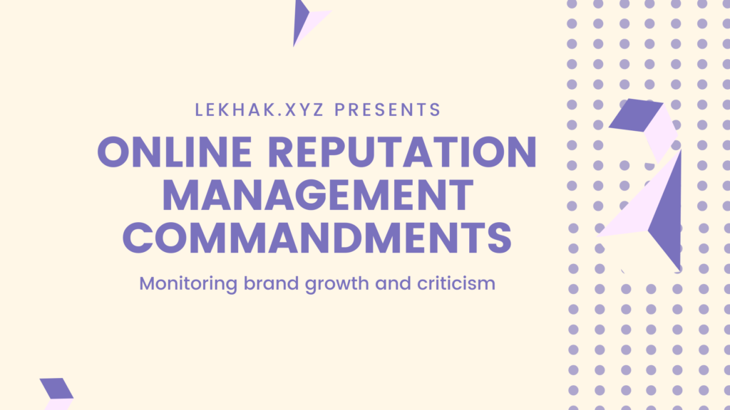 Online Reputation Management   Public Relations   Voiceover   Content Writing